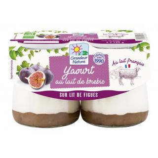 Grandeur Nature Schafmilchjoghurt auf Feigenbett 2x125g Packung