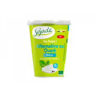 sojade Alternative zu Quark Natur 400g Becher