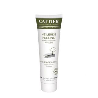 Cattier Weiße Heilerde Peeling 100ml Tube