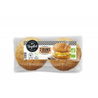 Biofournil Hamburger Buns 2 Stück 150g Packung (á75g)