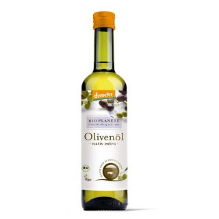 Bio Planète Olivenöl nativ extra -demeter- 0,5l Flasche