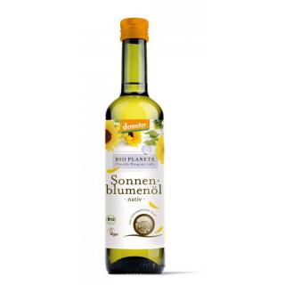 Bio Planète Sonnenblumenöl nativ -demeter- 0,5l Flasche