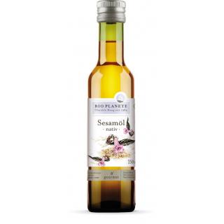 Bio Planète Sesamöl nativ 0,25l Flasche