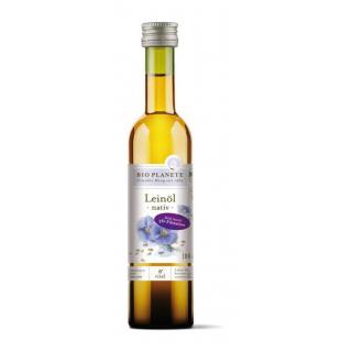 Bio Planète Leinöl nativ 100ml Flasche