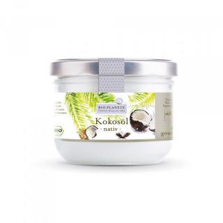 Bio Planète Kokosöl nativ 400ml Glas