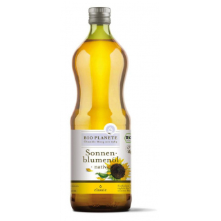 Bio Planète Sonnenblumenöl nativ 1l Flasche