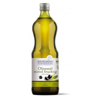 Bio Planète Olivenöl mittel fruchtig 1l Flasche