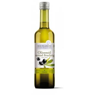 Bio Planète Olivenöl mittel fruchtig -rund und ausgewogen- 0,5l Flasche