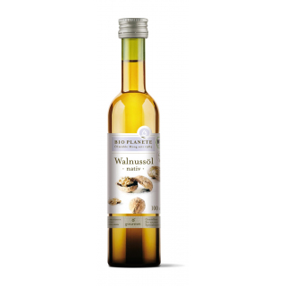 Bio Planète Walnußöl nativ 100ml Flasche