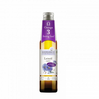 Bio Planète Leinöl nativ 250ml Flasche