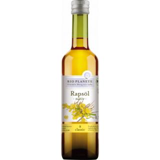 Bio Planète Rapsöl nativ 0,5l Flasche
