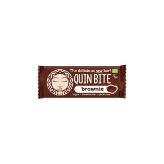 QuinBite Rohkostriegel Brownie 30g Stück