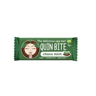 QuinBite Rohkostriegel Choco Mint 30g Stück