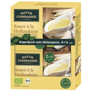 Natur Comp Doppelpack Sauce Hollandaise 92g Packung
