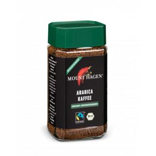Mount Hagen Löslicher Kaffee entcoffeiniert 100g Glas