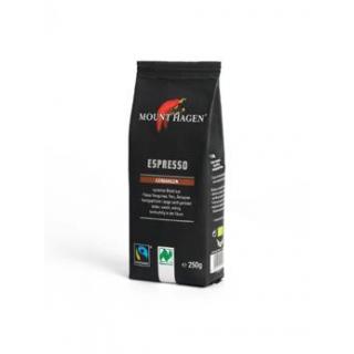 Mount Hagen Espresso gemahlen 250g Packung