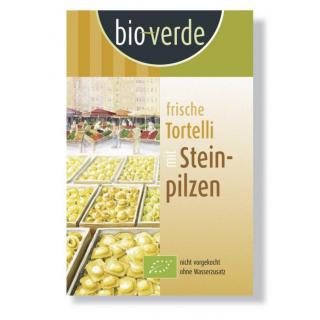 bio-verde Tortelli mit Steinpilz 250g Packung