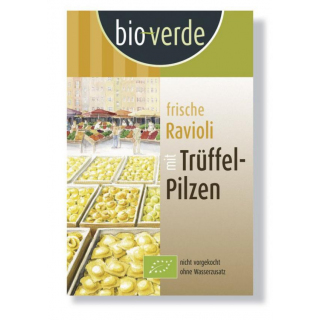bio-verde Ravioli mit Trüffelpilzen 250g Packun