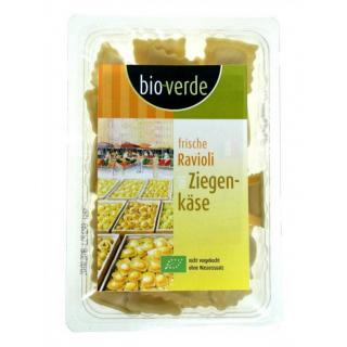 bio-verde Frische Ravioli Ziegenkäse 250g Packung