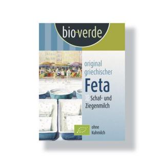 bio verde Original Feta Schafkäse 180g Stück