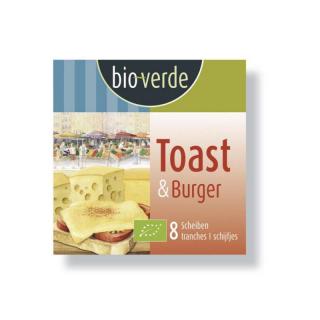 bio-verde Toast Käse in Scheiben 150g Packung