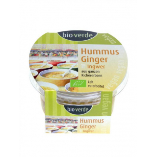 bio-verde Hummus Ginger 150g Becher