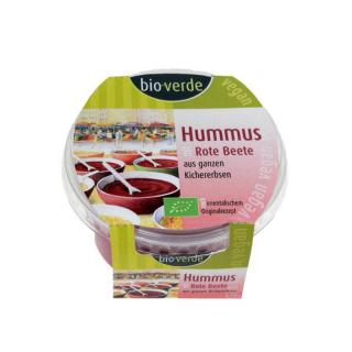 bio-verde Hummus Rote Beete 150g Becher