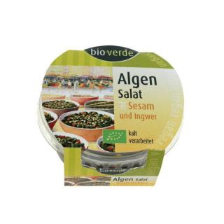 bio-verde Algen-Salat mit Sesam und Ingwer 100g Becher
