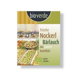 bioverde Bärlauch Kartoffel Nockerl 400g Packung