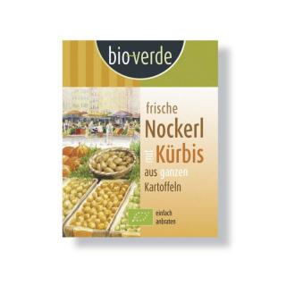 bio verde Frische Kürbis Nockerl 400g Packung