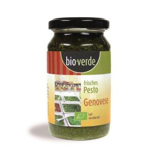 bio-verde Frisches Pesto Genovese 165g Glas