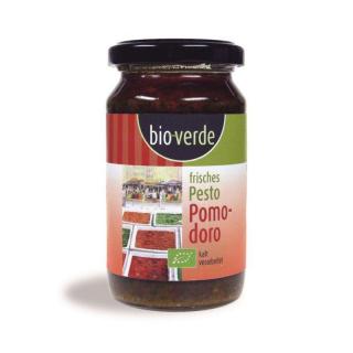 bio-verde Frisches Pesto Pomodoro 165g Glas