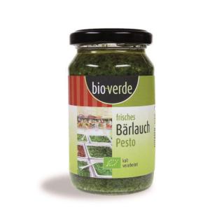 bio-verde Frisches Bärlauch Pesto 165g Glas