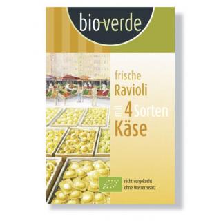 bio-verde Frische Ravioli 4 Formaggi 250g Packung