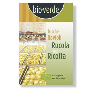 bio-verde Frische Ravioli al rucola 250g Packung
