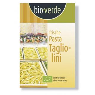 bio verde Frische Tagliolini 250g Packung