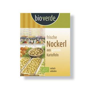 bio verde Frische Nockerl 400g Packung