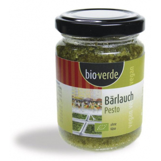 bio verde Bärlauch-Pesto 125g Glas