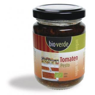 bio-verde Tomaten-Pesto 125g Glas