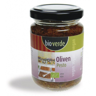 bio-verde Oliven-Pesto 125ml Glas