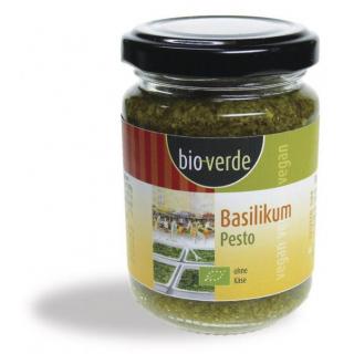 bio-verde Basilikum Pesto 125ml Glas