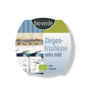 bio-verde Ziegenfrischkäse  extra mild & cremig 100g Becher