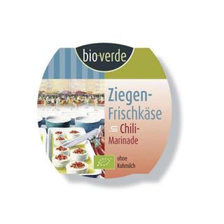 bio-verde Ziegenfrischkäse in Chili Marinade 100g Becher