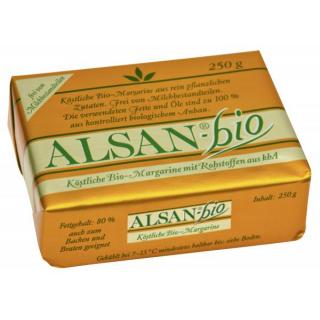 Alsan Bio Margarine 250g Stück