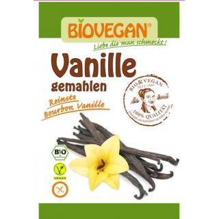 Biovegan Bourbon Vanille gemahlen 5g Beutel