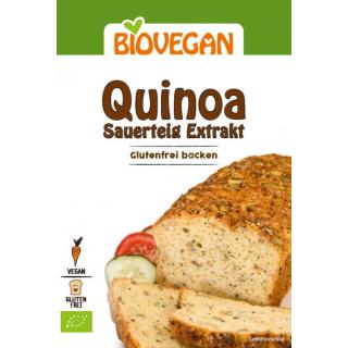 Biovegan Quinoa Sauerteig Extrakt 30g Packung
