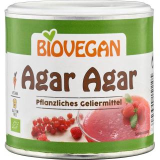 Biovegan Agar-Agar 100g Dose -glutenfrei-