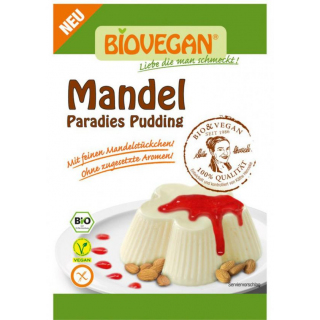 Biovegan Paradies Pudding Mandel 49g Packung
