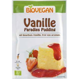 Biovegan Paradies Pudding Vanille 31g Packung