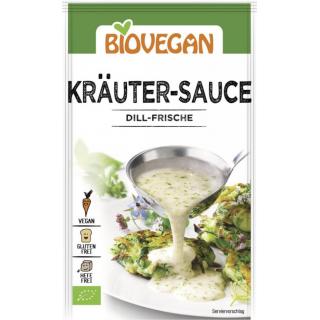 Biovegan Kräuter Sauce reicht für 0,25l Wasser 23g Packung -glutenfrei-